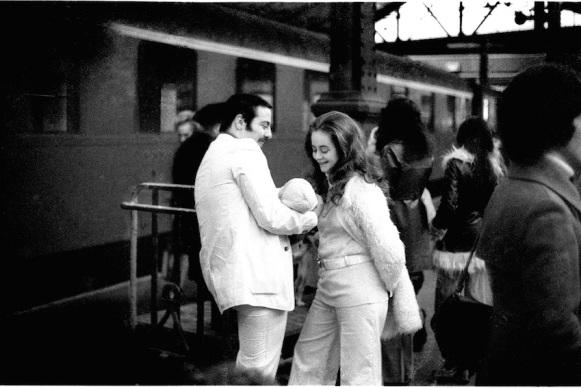 Gare Montparnasse, 1975 © Franck Landron/ agence Révélateur