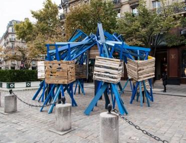 Sambre, installation place St-Germain-des-Prés