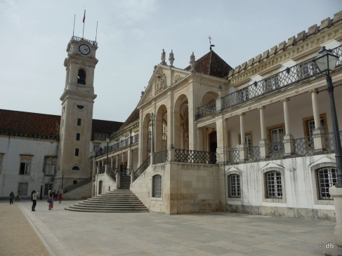 Université de Coimbra, aile nord © db
