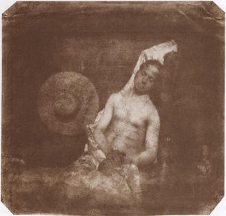 "Hippolyte Bayard, ""Autoportrait en noyé""/ Coll. SFP"