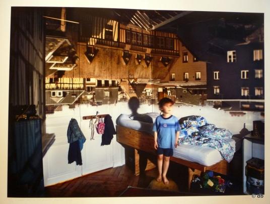 """Marja Pirilä, camera obscura, """"Melchior, Rouen, Ranska"""" 2007"""