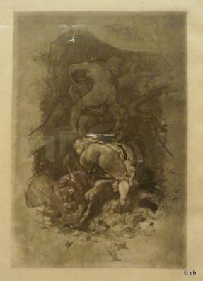 """Félicien-Rops (1833-1886), """"Voyage au pays des vrais dieux"""", Coll. Mony Vibescu/Photo db,"""
