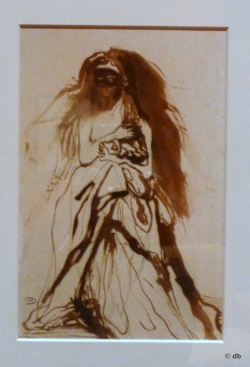 "Victor Hugo, ""Femme masquée retenant son manteau""/MVH/Photo db"