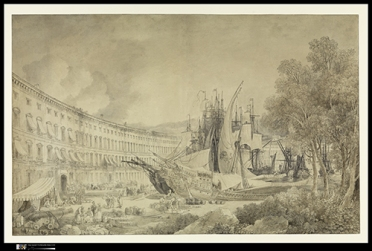 « Vue du port de Messine », 1783 © The Metropolitan Museum of Art, New-York