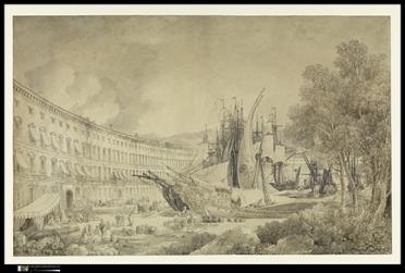 « Vue du port de Messine », 1783 © The Metropolitan Museum of Art, New-York