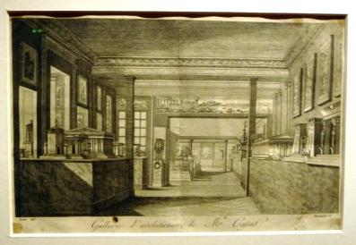 """Jacques M.s. Bence, """"Vue générale de la Galerie des cefs-d'oeuvre de l'architecture des différents peuples"""" © MBA Tours"""