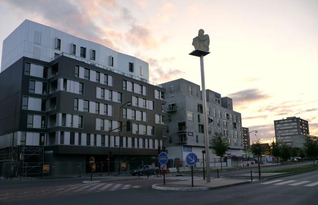 """Jaume Plensa, """"Désir-Rêve"""", 2011© ville de Vitry-sur-Seine"""
