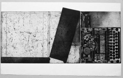 """""""Remington et boite""""1990 © Devorah Boxer"""