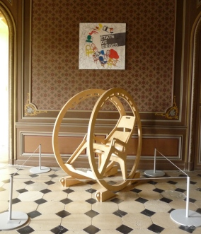 """Hardrocking chair extrem"", Vincent Mauger, 2007/photo db"