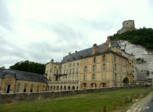 Le château de La Roche-Guyon © db