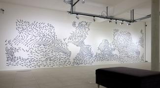 """Benoit Billotte, """"Wind Drift"""" © Fondation François-Schneider"""