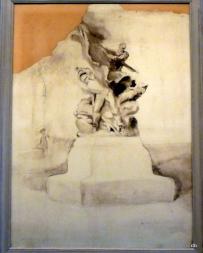 Bourdelle, projet pour le Monuments aux Combattants, 1895 / photo db